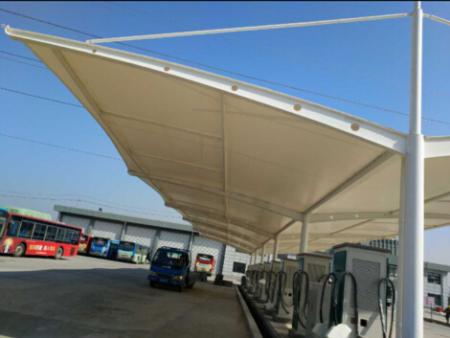 祝贺扬州泗槐公交站充电桩雨棚顺利竣工