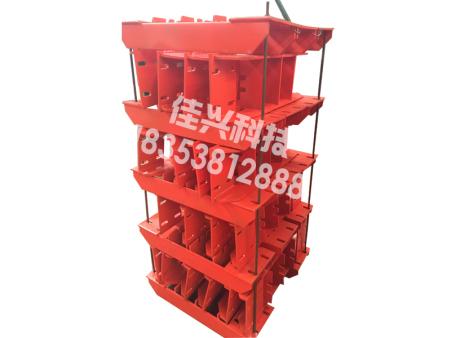 无极绳绞车轮组安装标准