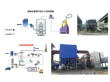 二級除塵脫硫設備
