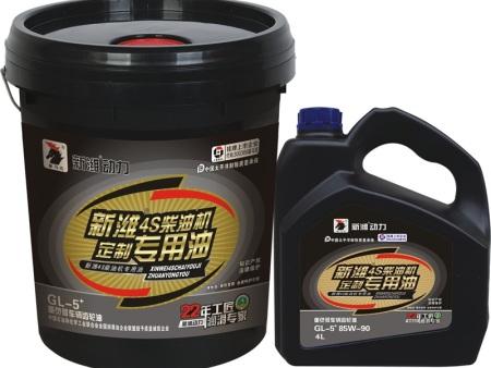 新濰柴油機油的性能特點