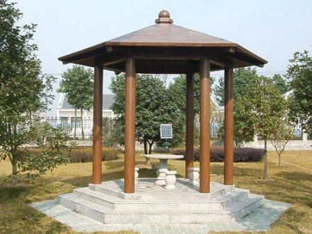 水泥仿木亭的生态价值