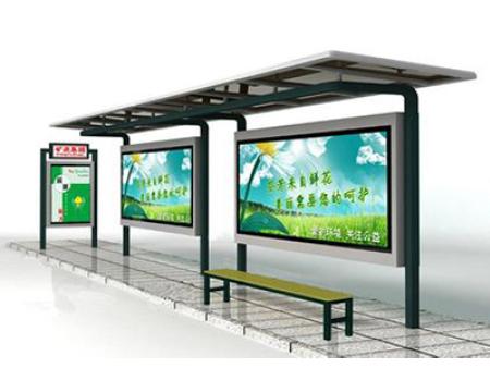 不锈钢公交站台
