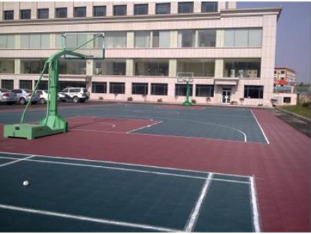 悬浮式拼装球场