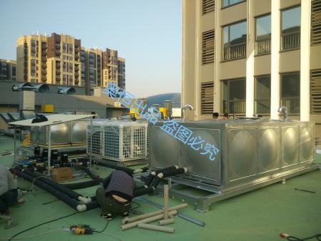 """承接""""龙海角美万达不锈钢保温水箱安装工程"""""""