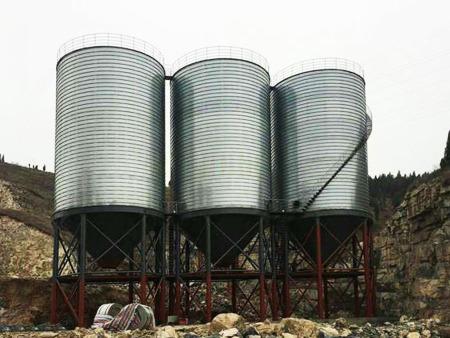 钢板粮仓厂家_介绍不同钢板仓的优势