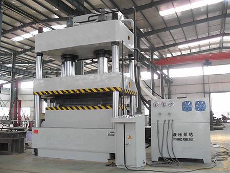 1600吨四柱液压机