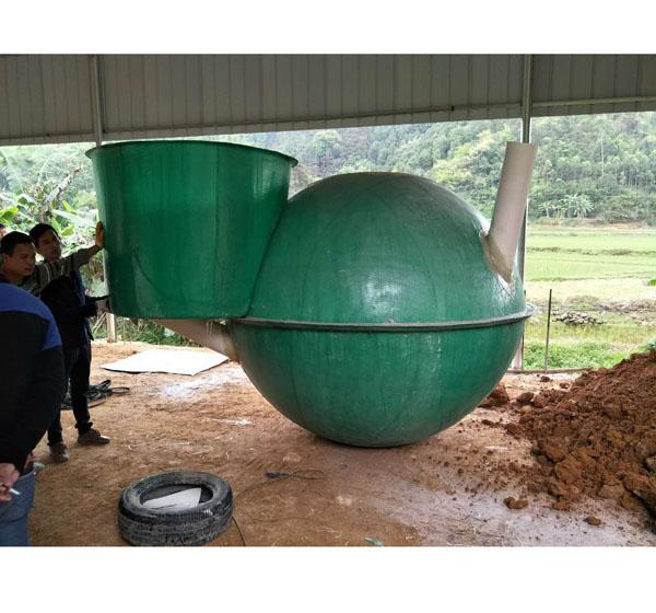 广西玻璃钢沼气池生产厂家