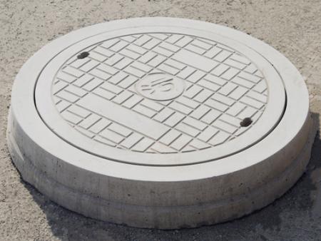 下水井盖为什么是圆形的呢?