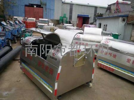 汝阳县实验高中不锈钢垃圾箱
