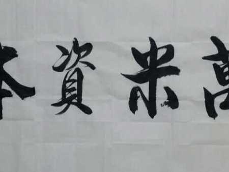书画家杨进禄,凤凰书画院院长为万米资本有限公司题《万米资本》