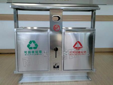 不锈钢垃圾箱2