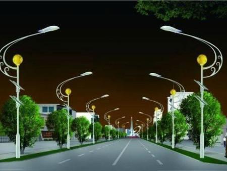 低价出售LED单灯杆单头路灯6米高