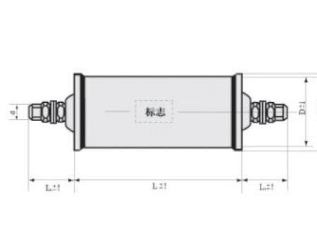 CH81型高压密封复合介质电容器