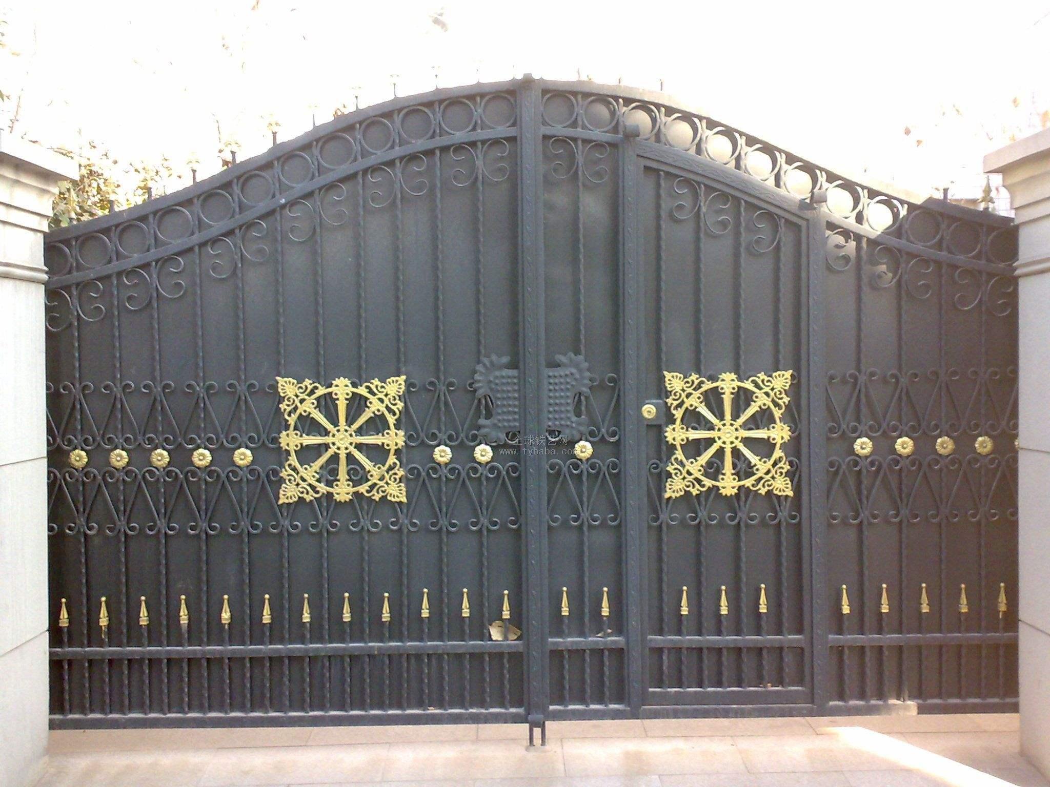 大门系列 案例展示 潍坊豪德金属制品有限公司
