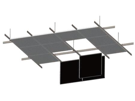 金属吊顶板