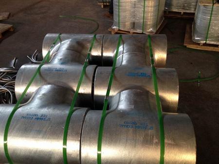 碳钢焊接45°三通