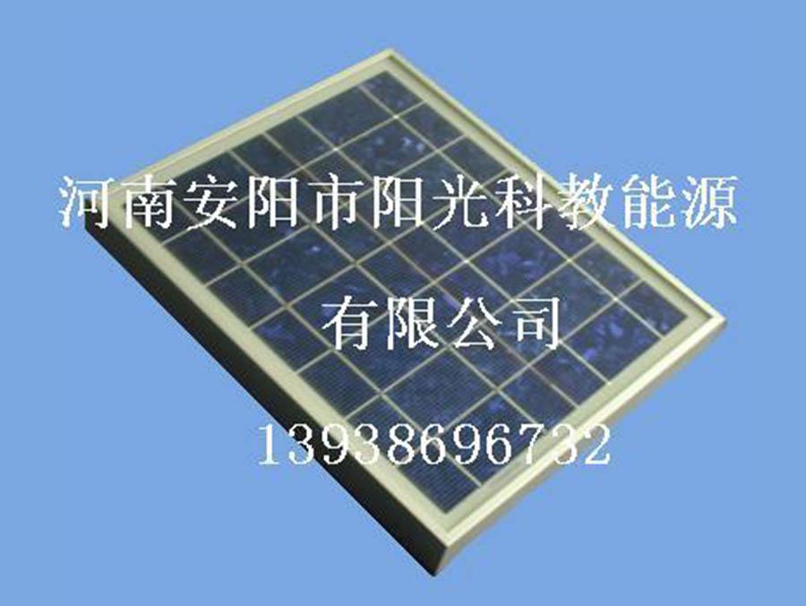 如何区别单晶太阳能电池板和多晶的