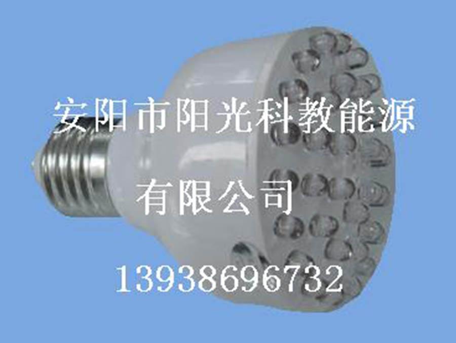 安阳市阳光科教能源:LED人体红外感应灯与LED声光控感应灯有什么区别吗?