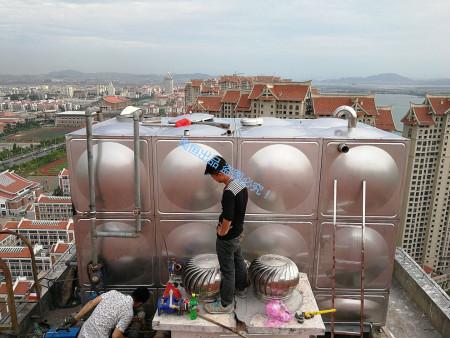 """承接""""厦门市滨水小区安置房更换不锈钢水箱安装工程"""""""