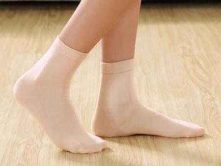 素色质朴女袜