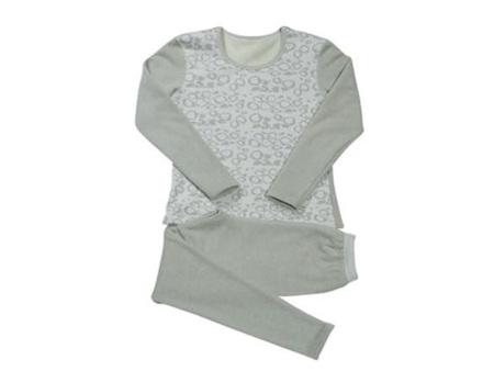 天然亚博APP暖绒女内衣套-1