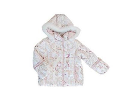 儿童秋冬装印花棉服