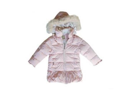 儿童秋冬装芭比羽绒服