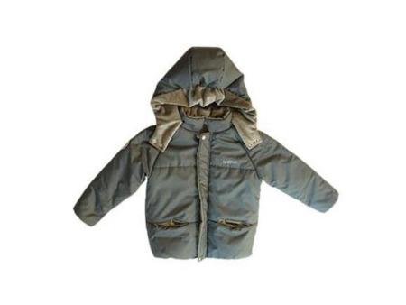 儿童秋冬装西格纹棉服