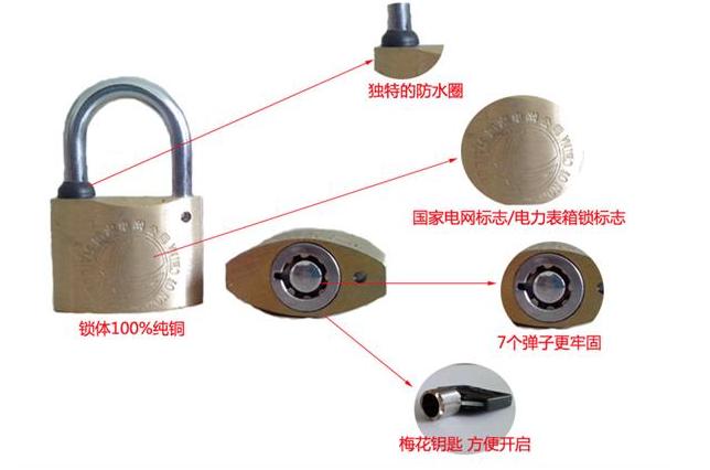 电力表箱锁四个优点