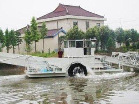 保洁船与专业河道保洁员相比效率高且成本低