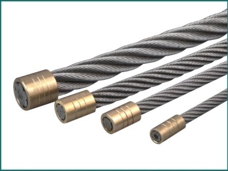Elevator galvanized steel wire rope , Elevator wire rope