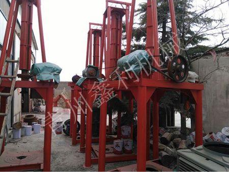 立式水泥制管机