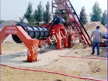 悬滚式水泥制管机