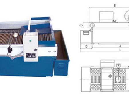 沧州供应耐酸碱重力式纸带过滤机/弧网式纸带过滤机热销