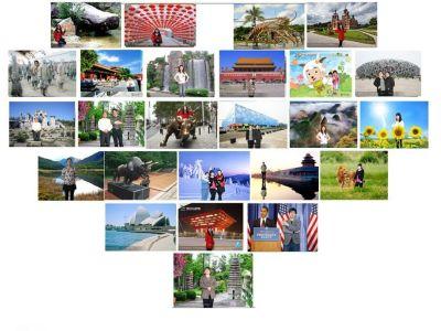鑫园合影机,夕阳红爱心摄影棚,拍,自助唱歌机,迷你KTV,虚拟演播室,智能影像馆——济南鑫园数码科技有限公司