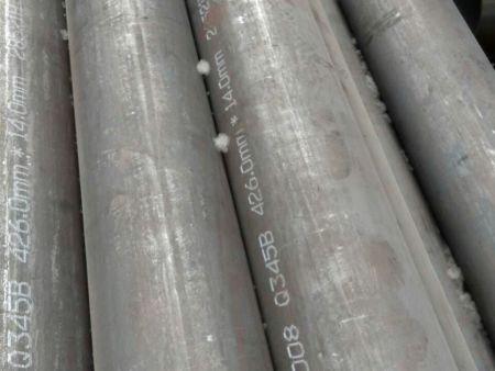 Q345B无缝钢管屈服度大,是工程建设的钢材