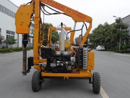full hydraulic piling and drilling machine