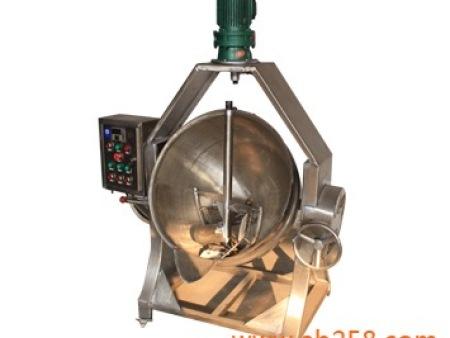 电加热导热油夹层锅--阿兵机械厂家直销
