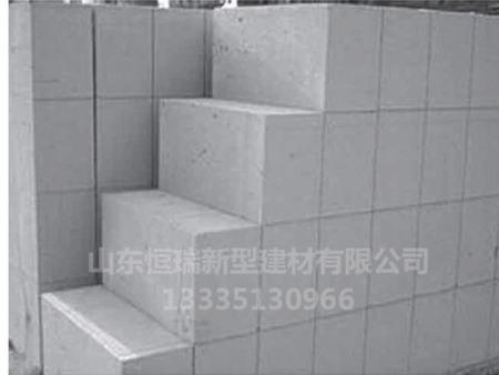 加气混凝土砌块原材料有哪些?