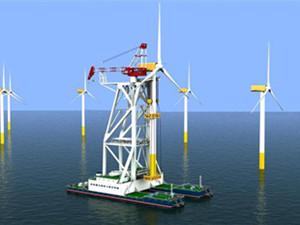亚洲规模最大风电项目海上升压站吊装成功