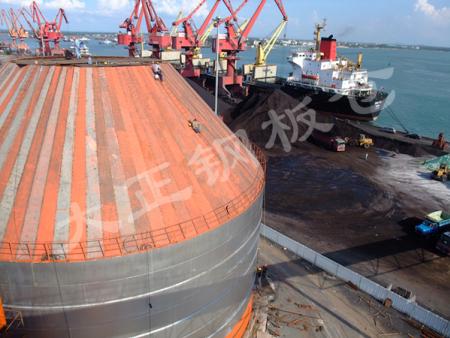 焊接仓--海南港口