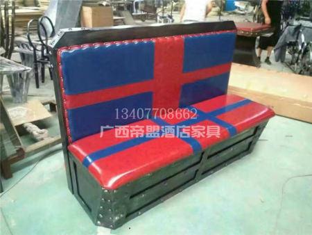 广西卡座沙发  小户型卡座沙发式客厅