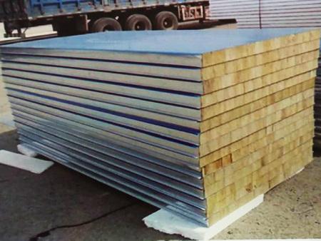 岩棉夹芯板(墙面板)