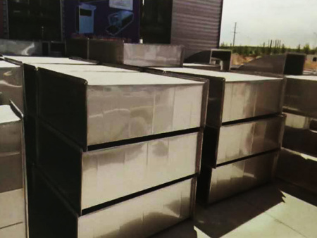 共板法兰不锈钢风管