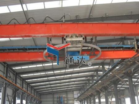 中储粮镇江粮油有限公司散料散粕装车系统——桥式堆包机