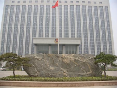 造型黑松被国家政府单位选用