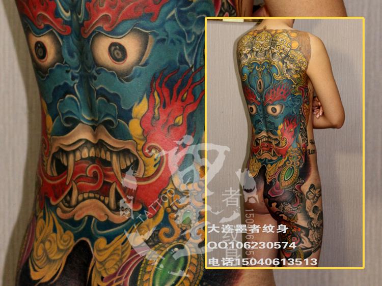 大连墨者纹身清洗推荐的再次纹身和外科手术都可以去除原来的纹身