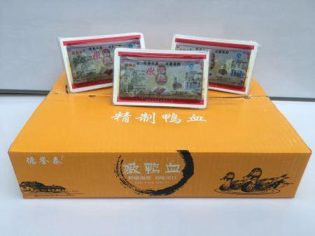 盒装纯鸭血生产工艺
