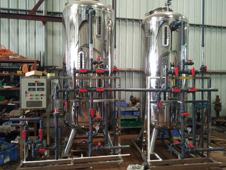 工业纯水设备试运行