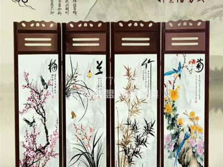 古典中式屏风定制